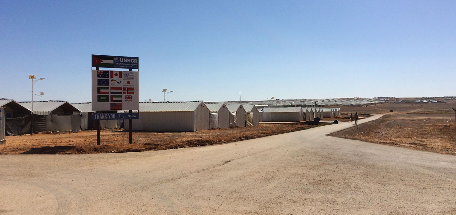 Container Houses in Azraq Refugee Camp